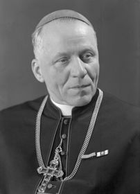 Kardinál Josef Beran, foto: ČTK