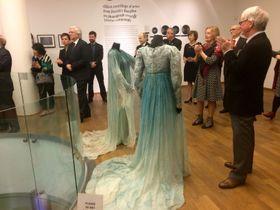 De la Exposición dedicado a Rusalka (a la derecha Magda Vášáryová, en el traje de lunares), foto: el Museo Nacional