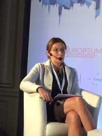 Мария Орджоникидзе, Фото: Катерина Айзпурвит, Чешское радио - Радио Прага