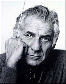 Leonard Bernstein, photo: Jack Mitchell, CC BY-SA 3.0
