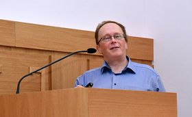 Pavel Tomančák vom Max-Planck-Institut in Dresden (Foto: ÚOCHB ČR)