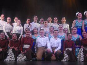 Bailarines y estudiantes de la Escuela de Música y Danza de Villa del Prado, foto: Ana Briceño