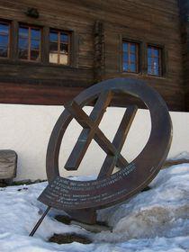 Denkmal, gewidmet der ersten Frauenabstimmung in der Schweiz (Foto: Wici, CC BY-SA 3.0)
