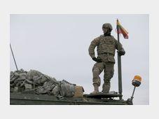 Le convoi militaire américain en Lituanie, photo: ČTK