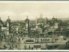 Messegelände im Stadtteil Holešovice (Foto: Archiv des Museums der Hauptstadt Prag)