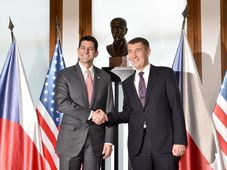 Paul Ryan, Andrej Babiš, photo: CTK
