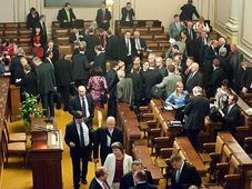 Lower chamber of Czech Parliament, photo: Filip Jandourek