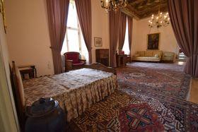 Ložnice Jana Masaryka, foto: Ondřej Tomšů