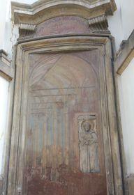 Iluzivní oltář snáhrobkem sv. Vintíře na Břevnově, foto: Martina Bílá