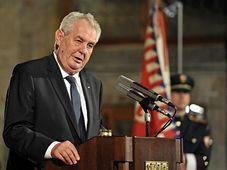 Miloš Zeman, October 28, 2015, photo: Filip Jandourek