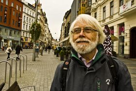 Don Sparling - a Canadian in Brno, photo: Vít Pohanka