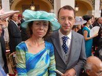 Marie Chatardová avec son mari