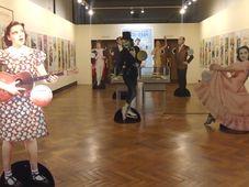 Sala principal de la exhibición, foto: Ana Briceño