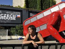 David Černý and his 'London Booster', photo: CTK