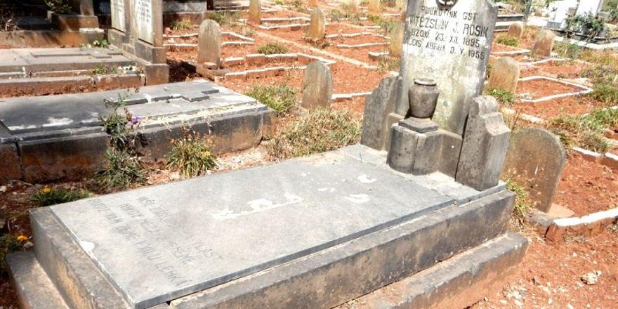 Hrob Vítězslava Rosíka v Addis Abebě, foto: archiv Minsterstva obrany ČR