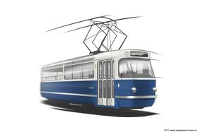 T3 coupe tram, photo: Anna Marešová Designers
