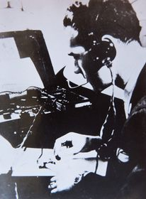 Jaroslav Klemeš als Funker (Foto: Archiv des Projektes Gedächtnis der Nation)