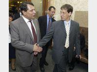 Jiri Paroubek et Stanislav Gross, photo: CTK