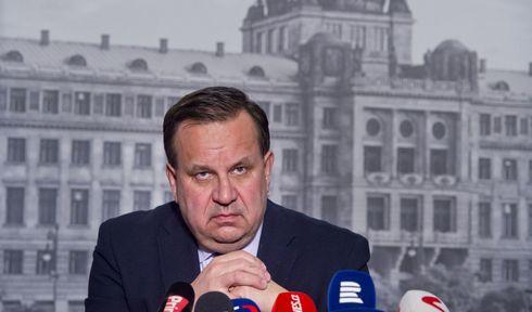 Jan Mládek, photo: ČTK