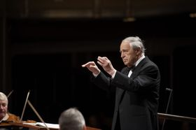 Pierre Boulez, photo: Roger Mastroianni / IFP