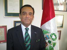 Alberto Salas, embajador del Perú, foto: Gonzalo Núñez