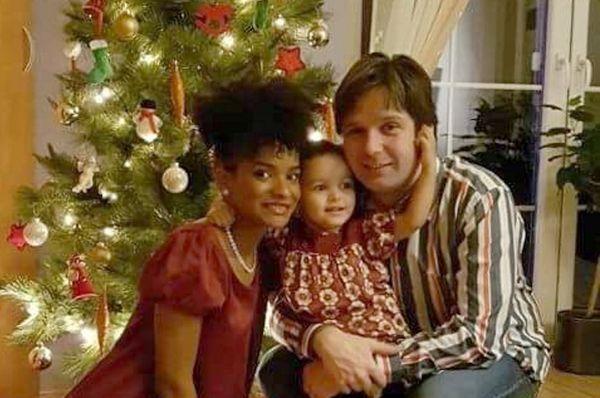 Wendy, Eva y Petr. Foto: archivo personal de Wendy Morillo