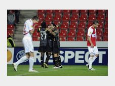Slavia Prague - Lille, photo: CTK