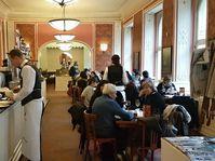 Café Louvre, photo: Ondřej Tomšů