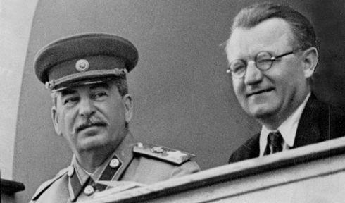 Joseph Vissarionovich Stalin, Klement Gottwald, photo: Czech Television