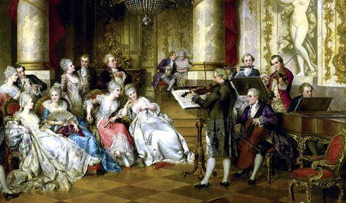 Концерт эпохи барокко, Вена