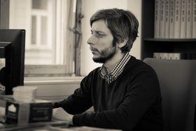 Dušan Radovanovič, foto: Khalil Baalbaki, archiv ČRo