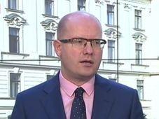 Bohuslav Sobotka, photo: ČT24