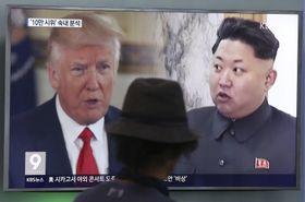 Donald Trump, Kim Jong Un, photo: CTK