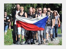Manifestaciones antigitanas en Duchcov, foto: ČTK