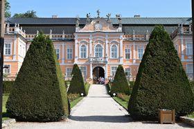 El palacio rococó de Nové Hrady, foto: Ondřej Tomšů