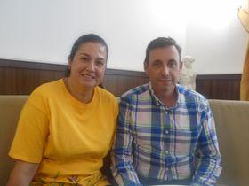 Belén Rodríguez y Manuel González Ortega, foto: Ana Briceño