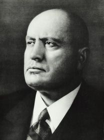 Benito Mussolini, photo: free domain