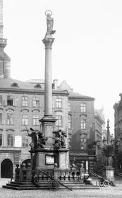 Марианская колонна на Староместской площади, Фото: Public Domain