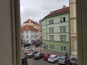 View from Blue Room, photo: Ondřej Tomšů