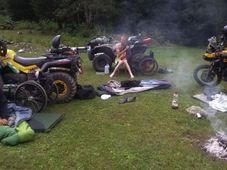 Во время экспедиции. Фото: Фейсбук инициативы «Колесом Вокруг Света»