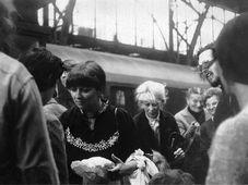 Le départ en 1982, photo: Archives d'Ivanka Lefeuvre