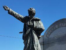 Памятник Карелу Гавличеку - Боровскому, Фото: архив Татьяны Ивановой - Шелингер