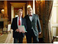 Bernard Kouchner et Karel Schwarzenberg, photo: CTK