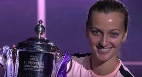 Petra Kvitová, foto: YouTube canal de WTA
