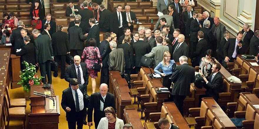 Lower chamber of Czech Parliament, photo: Filip Jandourek