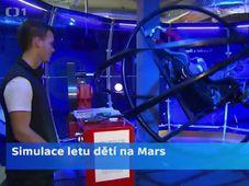 Simulación del viaje a Marte, foto: ČT