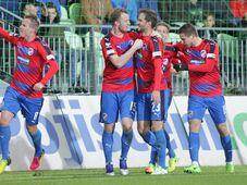 El Pilsen volvió a situarse a la cabeza de la liga checa de fútbol, foto: ČTK