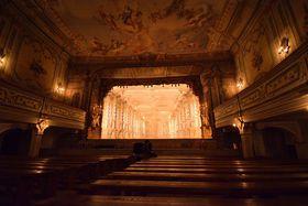 Le théâtre baroque de Český Krumlov, photo: Ondřej Tomšů