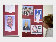 Выставка «Мир рисует Гавела», Фото: ЧТК
