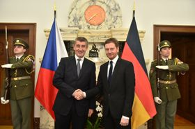 Andrej Babiš und Michael Kretschmer (Foto: Archiv des Regierungsamtes der Tschechischen Republik)